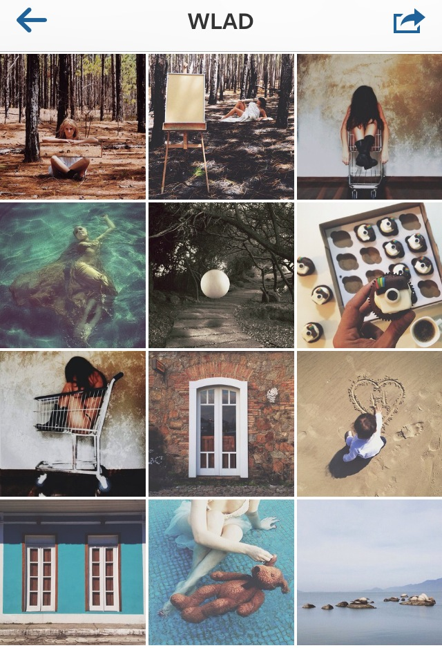 I started following him because he is from Florianapolis, but I stayed becuase of his beautiful photos