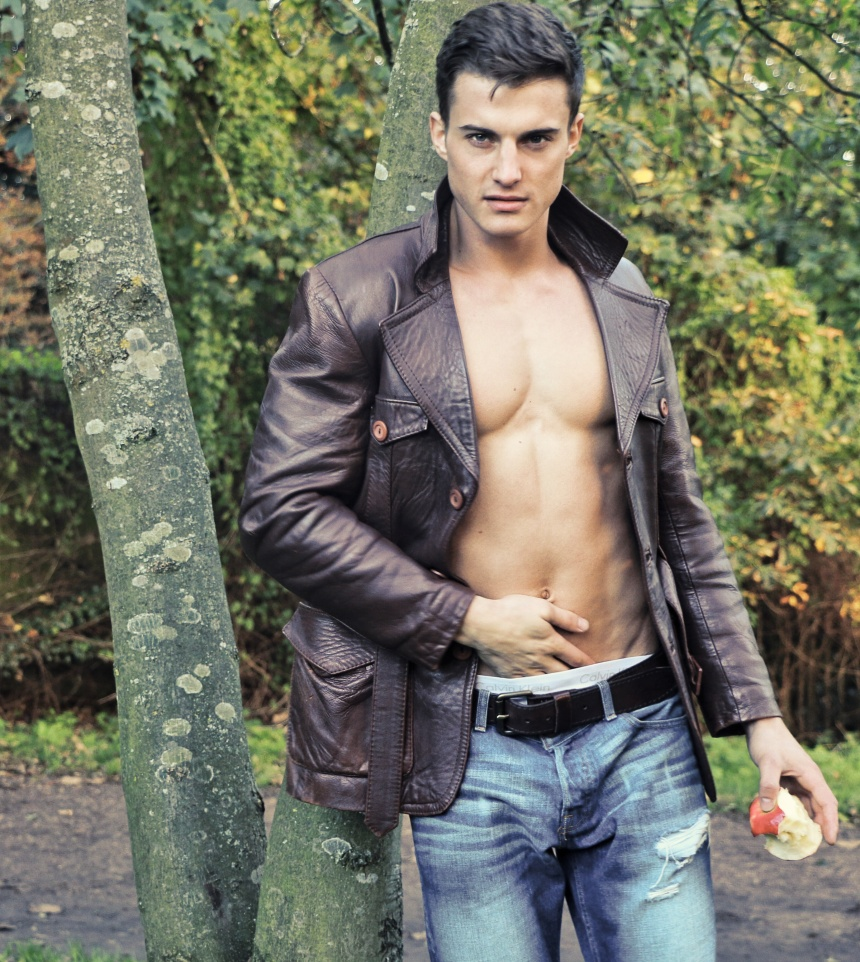 seductive Jack Ellis