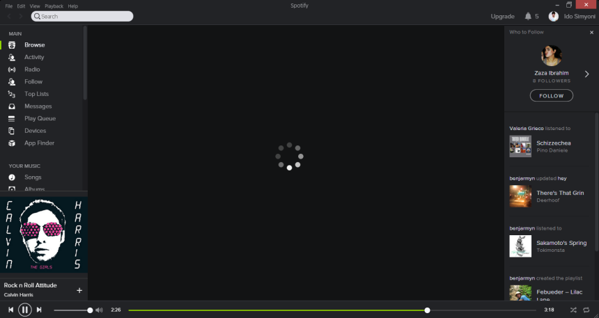 What on earth happened to my spotify and why can't I see search results?