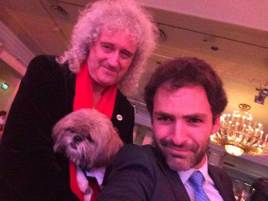 Selfie With the Queen!