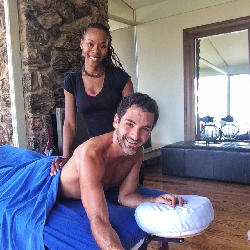 More spiritual massage by Rashida