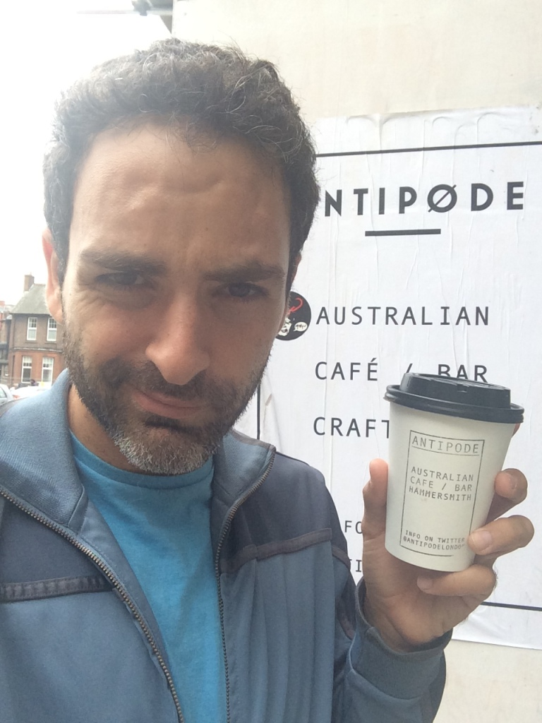I found it! my new favorite coffee place in London!