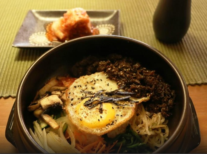 This is how Bibimbap should not look like!