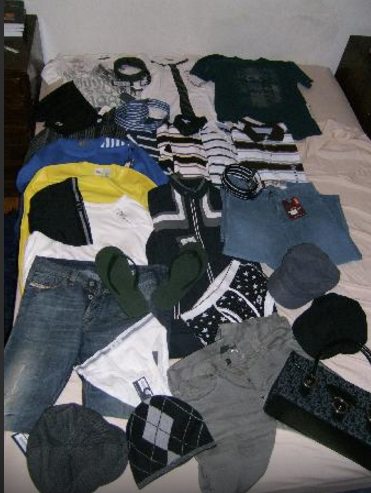 Ralph Lauren, Tommy Hilfiger, Diesel, Kenneth Cole, Armani Excahnge, DKNY, etc....